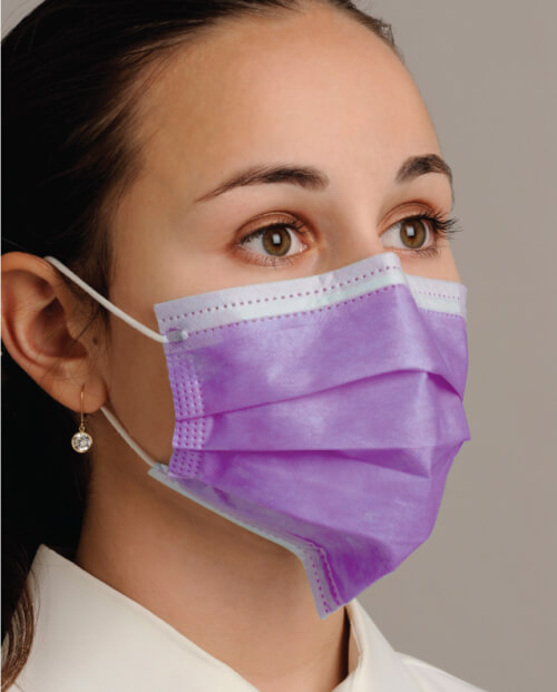 """Breathe E-Z"" Ear-Loop Face Mask"